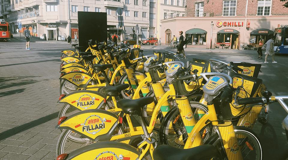 ちょっと迷った、ヘルシンキの公共自転車「シティバイク」の使い方