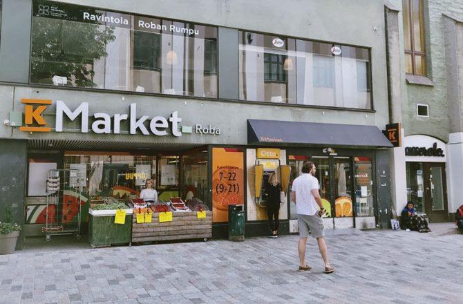 ヘルシンキで自炊!現地スーパーでの買い物の仕方をご紹介します